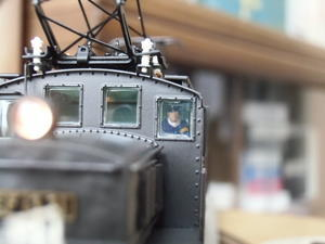 16番貨物用電機 乗務員搭乗 - 新湘南電鐵 横濱工廠3