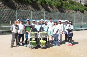 2020年10月18日 今年初行事 練習会 - 門司ローンテニスクラブ