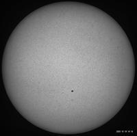 10月19日の太陽 - お手軽天体写真
