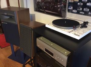 当店のオーディオ試聴機のセッティング状況です。 - オーディオ専門店ソロットオーディオの三日坊主ブログです