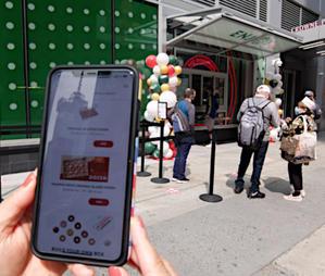 事前注文・宅配もできるクリスピー・クリームのオンライン販売や、スマホ向けアプリ - ニューヨークの遊び方