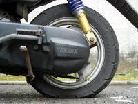 原付のタイヤパンク交換修理 - とあるジョグ乗りのツーリングブログ