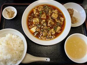 「つね川」の麻婆豆腐ランチ♡ - treatment-AKKUN