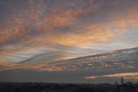 10月20日朝夕の空 - そらいろのパレット