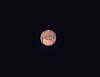 口径15㎝屈折による火星と木星 - 天体写真投稿