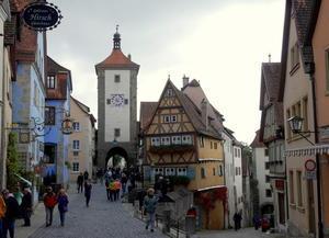 南ドイツ里帰り・秋~ローテンブルク編~ - 7つの塔が見える窓から in ドイツ