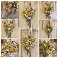 10月の1dayレッスン - driedflower arrangement ✦︎ botanical accessory ✦︎ yukonanai ✦︎