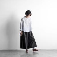 HUIS./やわらかコットンスカートパンツ - UTOKU