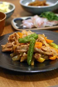 豚の生姜焼きと長崎のねこ - KICHI,KITCHEN 2