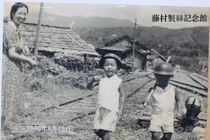 ○昭和15年の魚梁瀬森林鉄道沿線の子ども達 - 高知の電車とまちを愛する会 ニュース