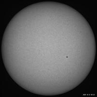 10月21日の太陽 - お手軽天体写真