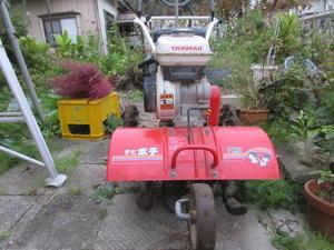 畑に耕耘機 - おしゃべりきものⅡ-または、おしゃべりねこ