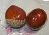 栗饅頭と北方謙三10月22日(木) - しんちゃんの七輪陶芸、12年の日常