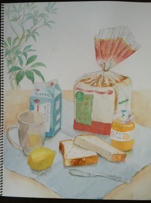 朝の食卓 -