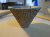 レース紋マグカップ★逆さピラミッド型 - 月夜飛行船2