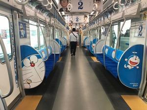 日本への帰国とドラえもん電車 - ロンパラ!(LONDON パラダイス)