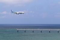 夏のRWY36Lアプローチ - 南の島の飛行機日記