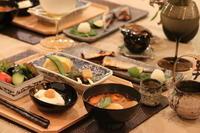 秋刀魚と豆腐料理 - ミセス サファイア 静けさの中で