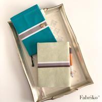手帳カバーの作り方 - Fabrikoのカルトナージュ ~神戸のアトリエ~