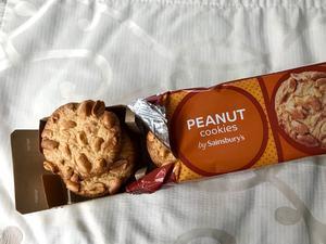 懐かしの味、ピーナツクッキー - ロンドン 2人暮らし