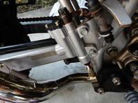 XR50モタード改のリヤマスターシリンダー - 思いのままに・・日々遊々