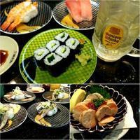 みなさん、回転寿司で何皿食べるのかな? - leisurely life / 再婚夫婦の日常