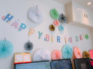 My birthday - 松本陽子デンタルクリニック院長ブログ Beauty&Cure診療日誌