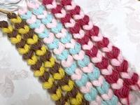 ☆ハート模様の編み編みブレード☆ - ガジャのねーさんの  空をみあげて☆ Hazle cucu ☆