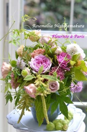 Fleuriste a Paris Lesson - ローズメリア西鎌倉/パリ花レッスン&旬のバッグレッスン教室<CHICFLIC Leviosa japan Coquette.715認定講師>