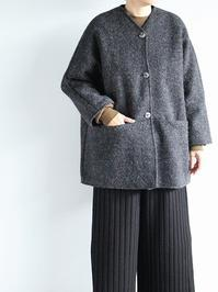 Worker's NobilityMidi Jacket / Boiled Wool - 『Bumpkins putting on airs』