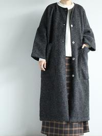 Worker's NobilityPocket Coat / Boiled Wool - 『Bumpkins putting on airs』