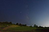奥河内の星空 - katsuのヘタッピ風景
