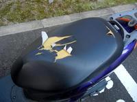 原付スクーターの破れたシート交換修理 - とあるジョグ乗りのツーリングブログ
