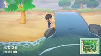 【Switch】「あつ森」3月のレア魚「チョウザメ」を釣り忘れてたので、時を戻る。 - ゲームに漫画、時々看護師