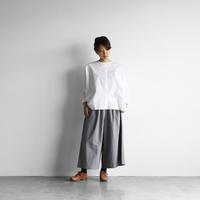 HUIS./綿ウールタイプライタークロススカートパンツ - UTOKU