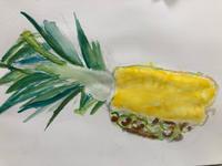 2020.10.25 子ども絵画教室〜果物をじっくり描く〜 - miwa-watercolor-garden