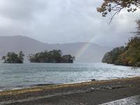 雨の1日十和田湖奥入瀬渓流盛岡ドーミーイン - 旅と数学  それとdiy
