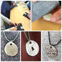 第18回美銀作品展、体験会!! - 銀粘土と樹脂粘土と2匹のねこ
