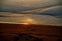 朝のビーチg3 - 雲空海