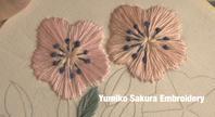 途中経過です。 - Yumiko Sakura Embroidery