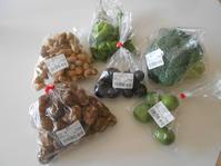 季節の野菜と平貝でカヴァを飲みました。 - のび丸亭の「奥様ごはんですよ」日本ワインと日々の料理