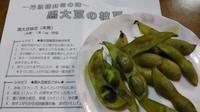 黒大豆の枝豆 - がちゃぴん秀子の日記