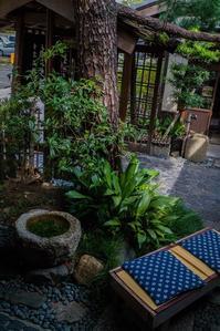 今宮神社~東門側のあぶり餅「かざりや」 - 鏡花水月
