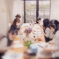 10/17カリグラフィーレッスンカリグラフィーの多様化に☆ - 風の家便り