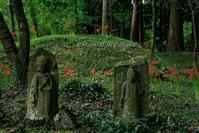 西巌殿寺の地蔵と彼岸花 - Mark.M.Watanabeの熊本撮影紀行