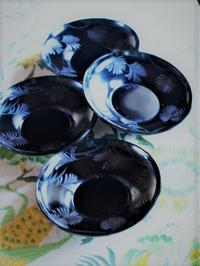 ススキの茶托 - hibariの巣