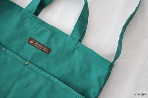 YouTube動画準備中・帆布バッグにカシメでワンポイント仕上げ♪ - neige+ 手作りのある暮らし