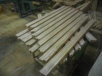 建具の加工を始めます。 - 手作り家具工房の記録