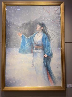 P100号☆幻の「雪女」のお話… - デルフトブルー☆