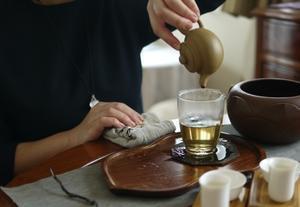 中国茶への思いを茶席にこめて -
